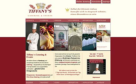 Referenz Tiffany`s Catering